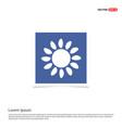 sunicon - blue photo frame vector image vector image