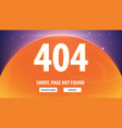 404 error with space on the background page not vector image