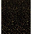 gold glitter vector image