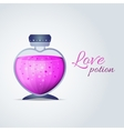 Love Potion for Valentines Day cards vector image