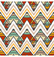 abstract zigzag pattern for cover design vector image vector image