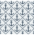 anchors seamless pattern vector image vector image