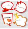 bubble for speech vector image vector image
