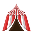 Circus carnival celebration cartoon design vector image