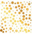 golden circles pattern background can be used as vector image vector image