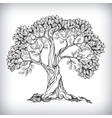Hand drawn tree symbol vector image