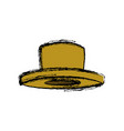 hat accessory fashion trendy for men vector image vector image