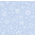 pattern snow light vector image vector image