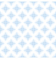 abstract blue rhombus wave lines background vector image vector image