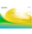 bright summer colors abstract background poster vector image