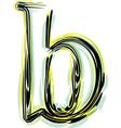 Font letter b