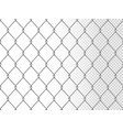realistic chain link seamless pattern vector image