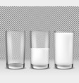 set of realistic isolated vector image vector image