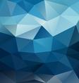 blue night sky triangular background vector image