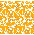 Abstract orange shapes on white seamless pattern vector image vector image