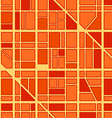 Abstract seamless background of city district vector image vector image