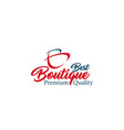 best boutique letter b icon vector image vector image