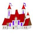 Fairy-tale castle vector image vector image