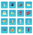 great britain icon blue app vector image vector image