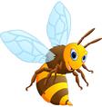 Happy carton bee vector image vector image