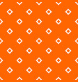 tile orange and white background or pattern vector image vector image