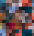 Abstract background in pixel style vector image vector image
