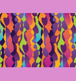 abstract tropical colors shapes seamless pattern vector image vector image