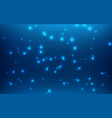 blue abstract shiny glitter background art and vector image
