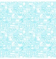 cleaning white line seamless pattern vector image vector image