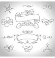 curls4 vector image vector image