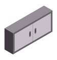 garage furniture icon isometric style vector image vector image