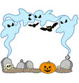 ghost frame vector image vector image
