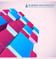 isometric abstract background for business vector image