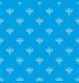 laboratory pattern seamless blue vector image vector image