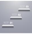 modern shelf infographic background vector image vector image