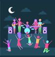 people music celebration vector image vector image