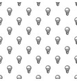 save energy bulb pattern seamless vector image vector image