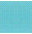 Tile pattern with white polka dots on blue vector image