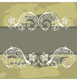 7floral line 82 1 vector image vector image