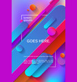 abstract background for presentation vector image vector image