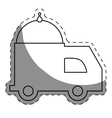 fast food delivery icon vector image vector image
