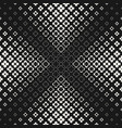 halftone texture monochrome seamless pattern vector image vector image