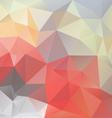 pastel love triangular background vector image vector image