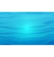 Water texture vector image vector image