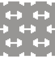 Barbell seamless pattern vector image vector image