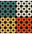Bright pattern Bagel vector image vector image