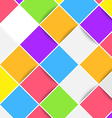 Colorful bright mobile web tiles layout vector image vector image