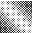 Halftone circle pattern background template vector image