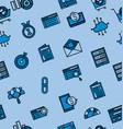 online market icon pattern vector image vector image