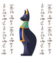 ancient egypt cartoon set vector image vector image